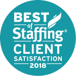 Pace Staffing Client Satisfaction Award